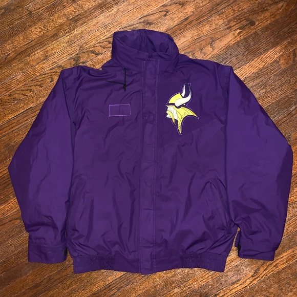 brand new 00d74 8bb8f Puma Gore-Tex Minnesota Vikings Jacket Size Large